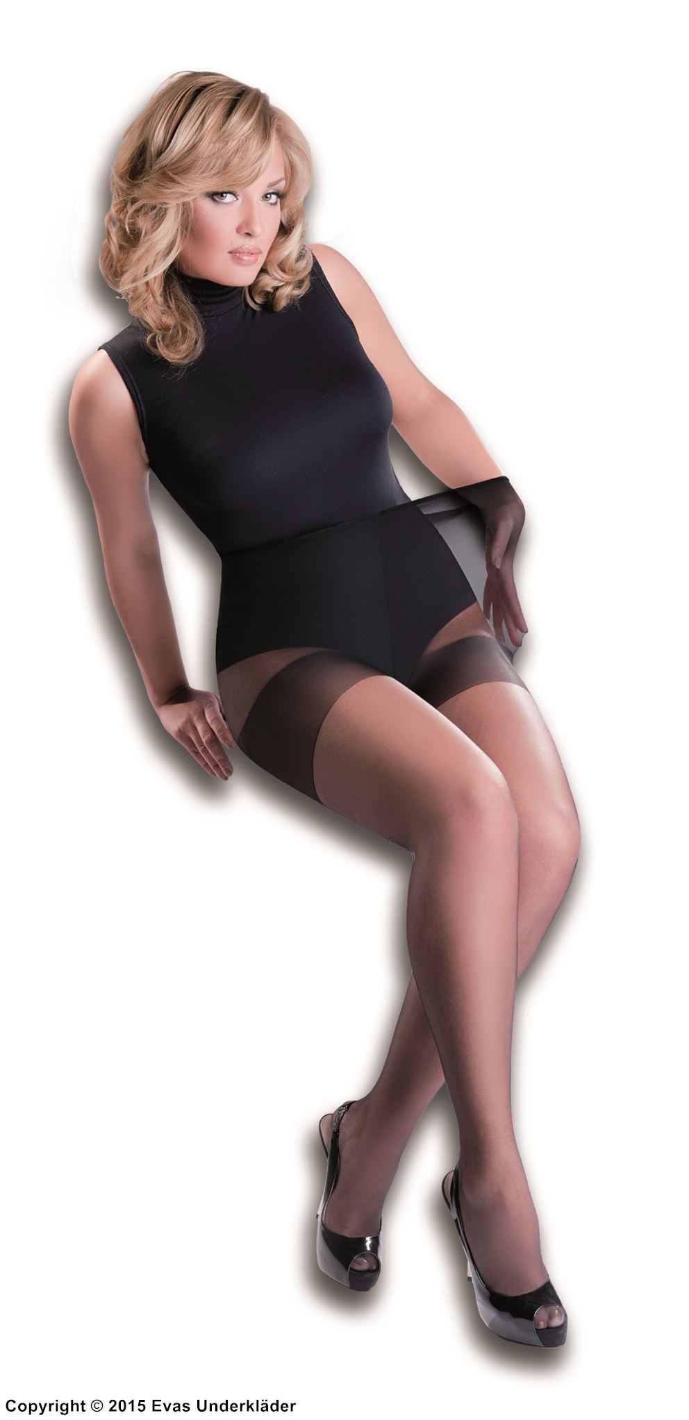 Be Wicked - Be Wicked BW656 Opaque footless tights Also in